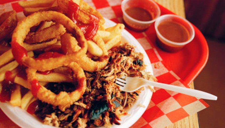 La comida rápida es tan estadounidense como el pastel de manzana.