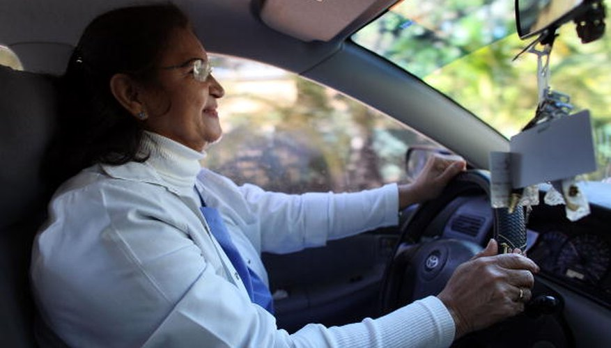 A live-in caregiver may need to have a good driving record.