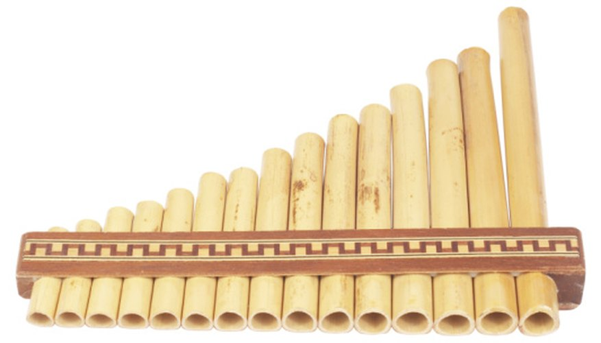 Low-pitched tones on panpipes sound like doves.