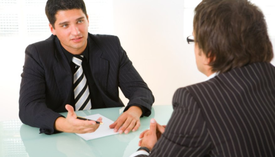 The personal interview is a critical part of the recruitment process.
