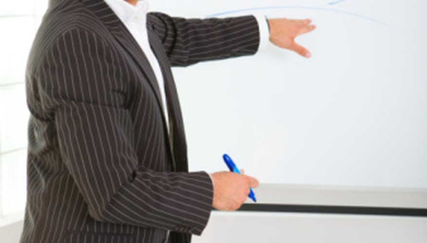 Sales presentations aim to convince the audience of the value of a proposal.