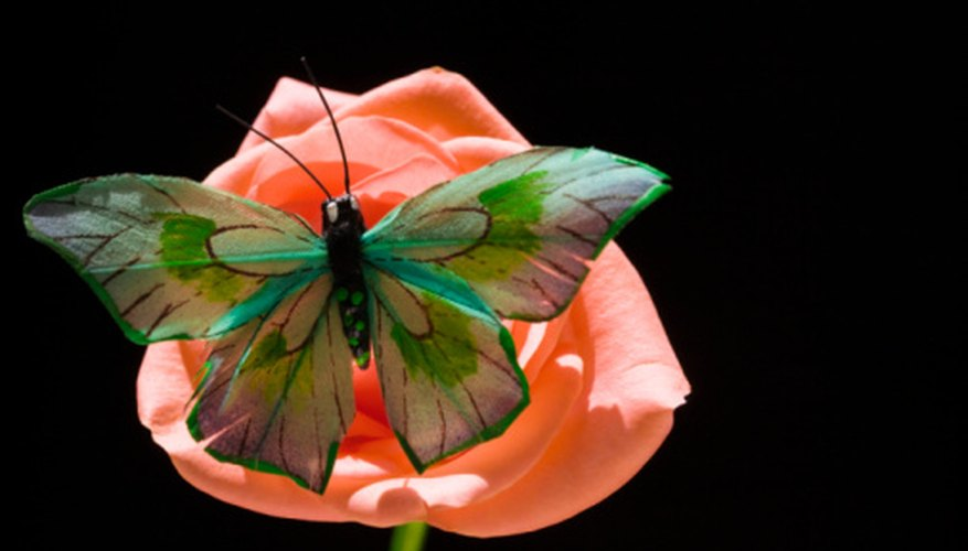 Animals, like butterflies, are essential in the spreading of plant male sex cells.