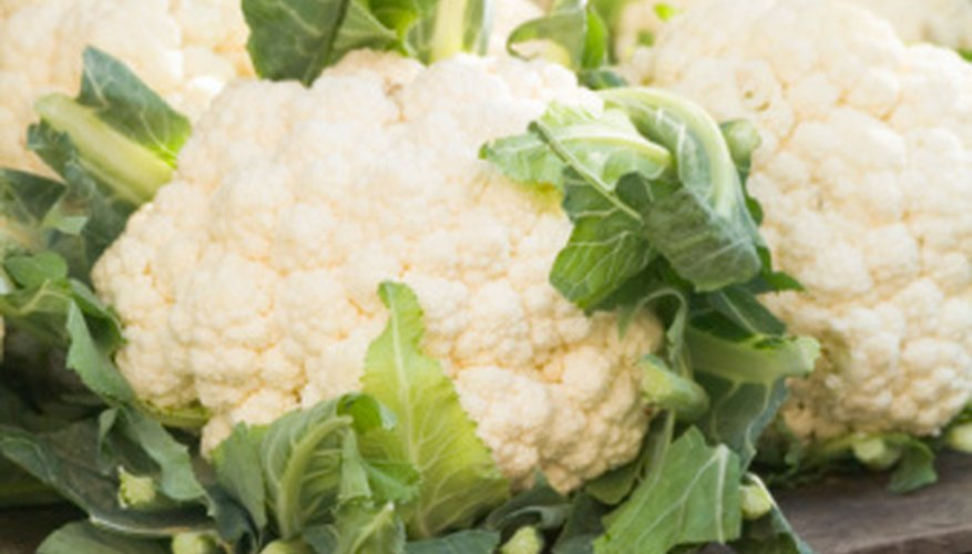 Cauliflower is a versatile cole crop.