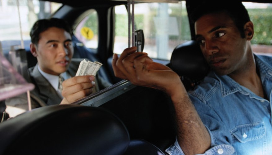 Job-related expenses may significantly impact taxi drivers' earnings.