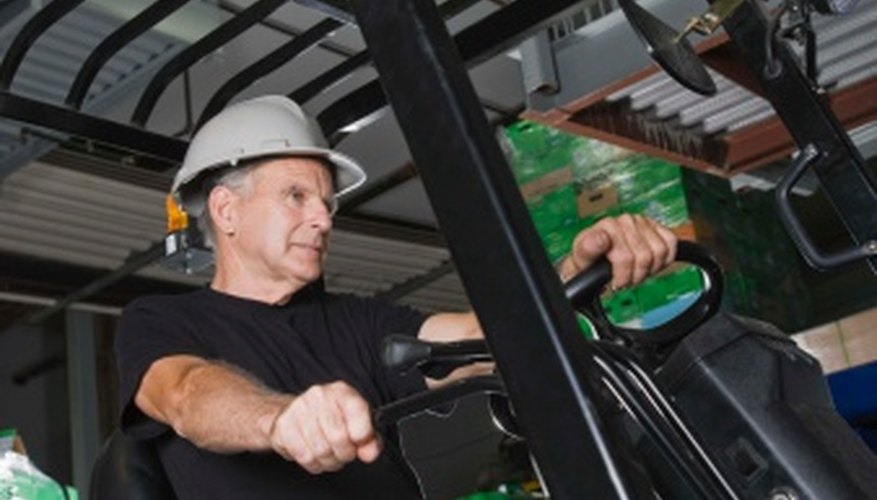 Proper forklift operation is important in keeping warehouses safe.