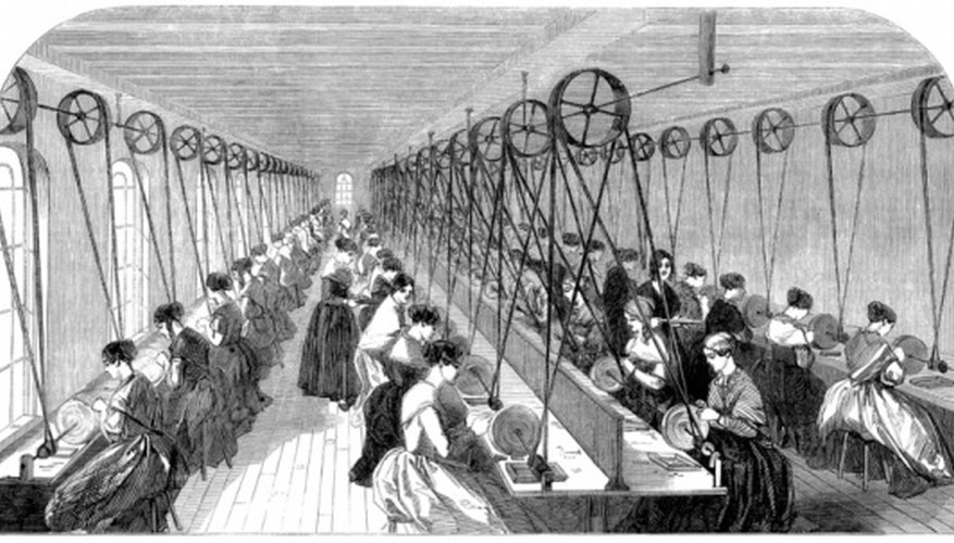 Factories in the past and today are dependent on labor as one of the factors of production.