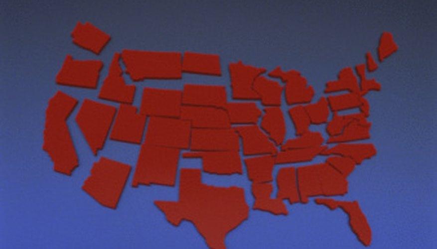 A partir de 2001 en los Estados Unidos cinco Estados no tienen impuesto sobre las ventas.