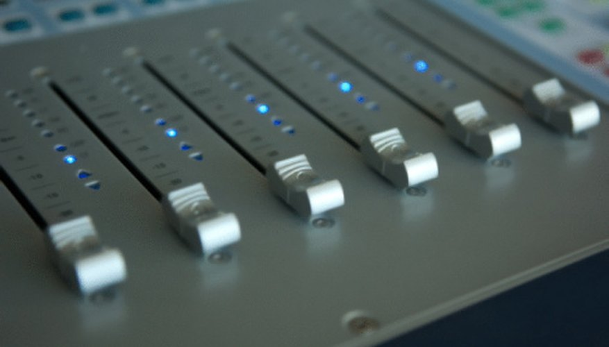 Adjust the gain fader to temper the output volume.