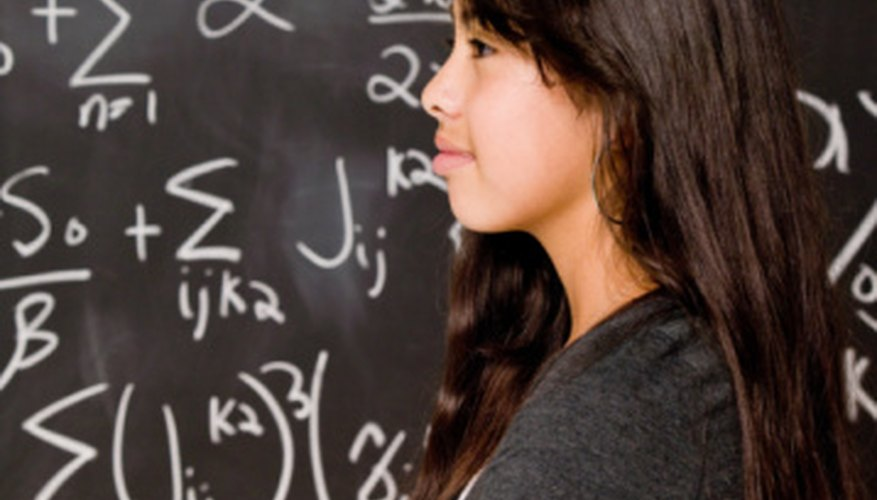 High school students often have difficulty with precalculus and calculus.
