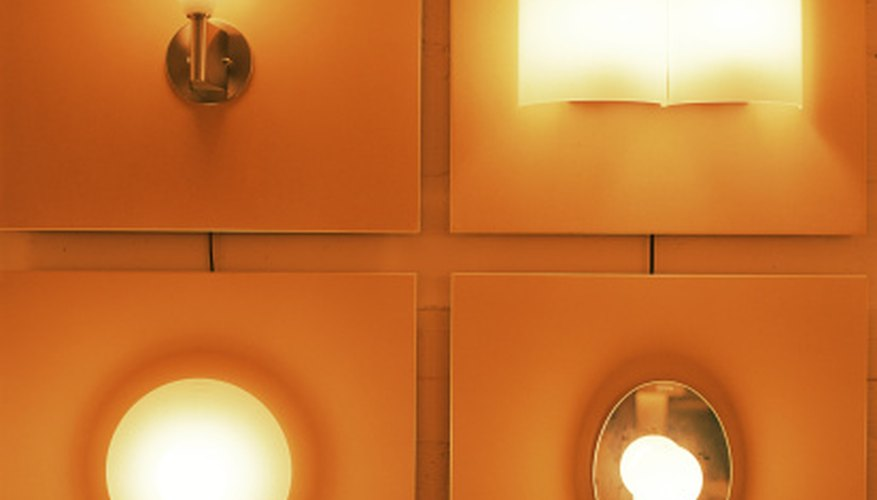 Different lighting fixtures may be compared based on energy consumption and the quality and quantity of light produced.