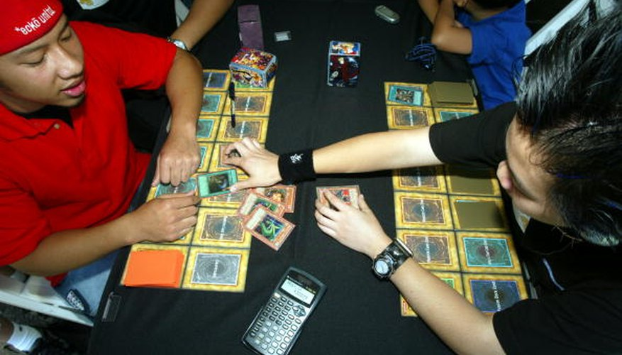 Make some extra cash by selling your Yu-Gi-Oh cards.