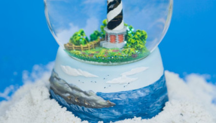 Snow globes don't have to be about Christmas.