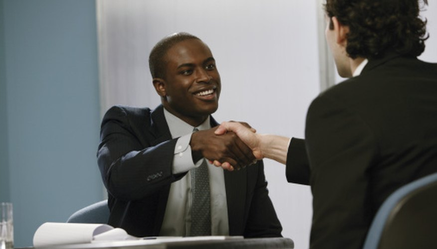 Interviews give you a chance to build rapport with the recruiter.