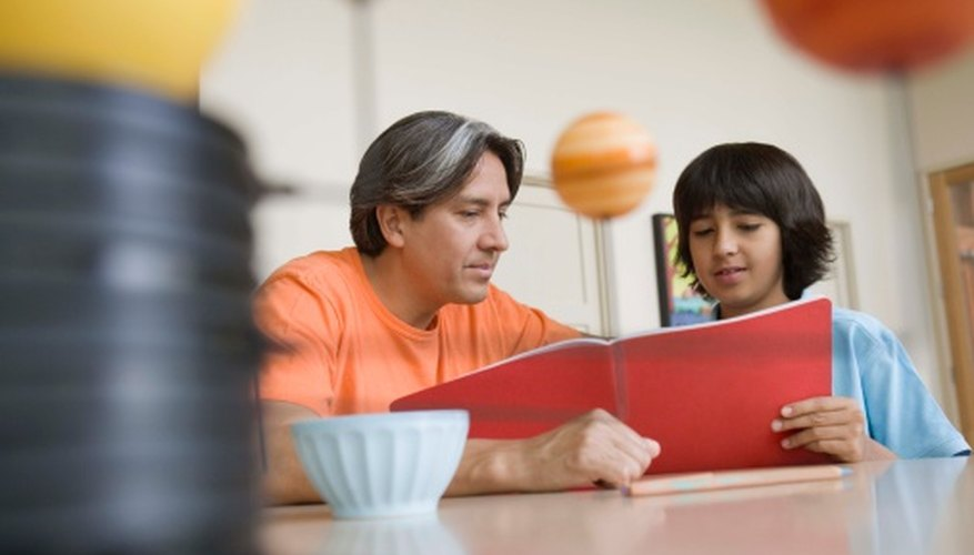 Work with your child to choose the best science project for seventh grade.