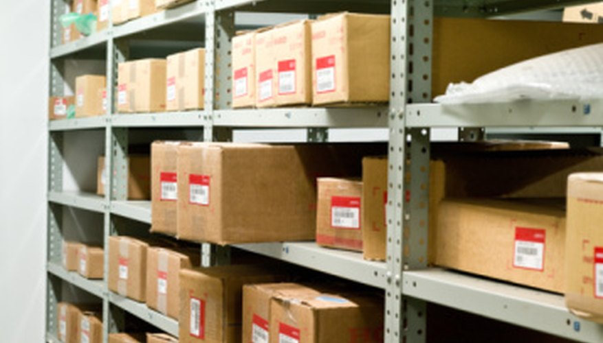 Stock control ensures that the appropriate parts and materials are available.