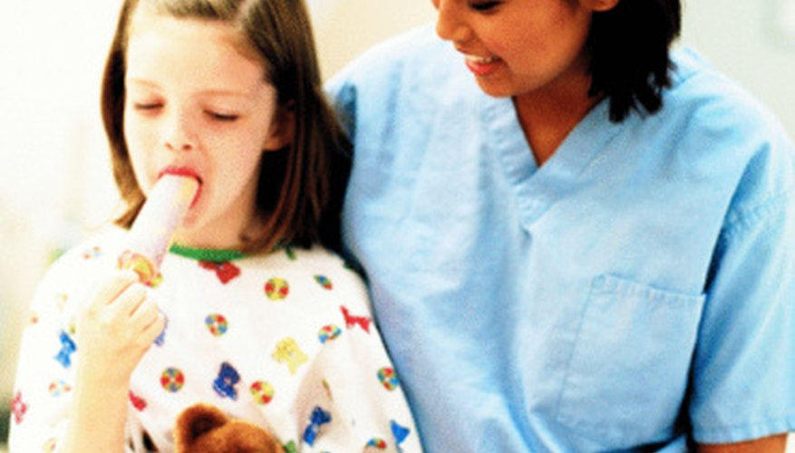 Some patient care technicians choose to specialize in particular fields like pediatrics.