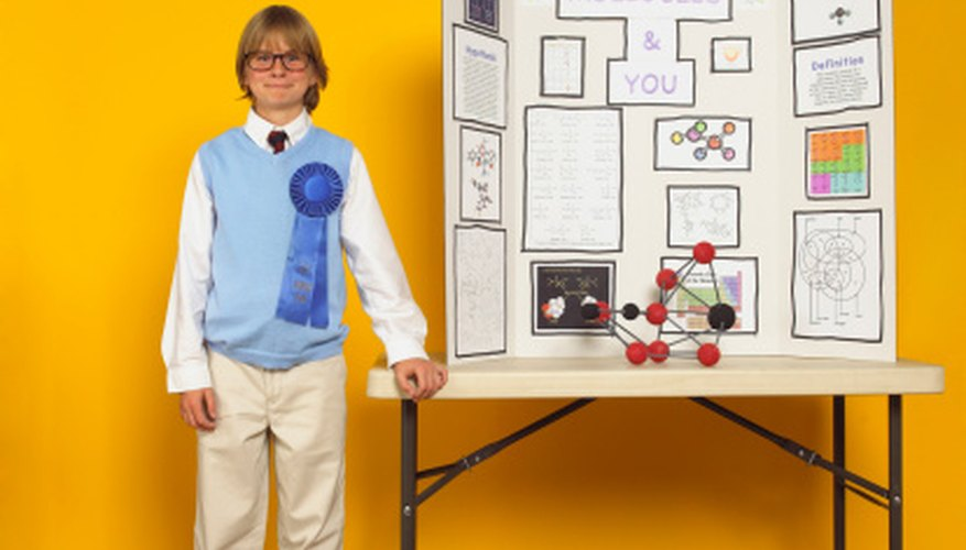 Science fairs are popular school activities from elementary to high school.