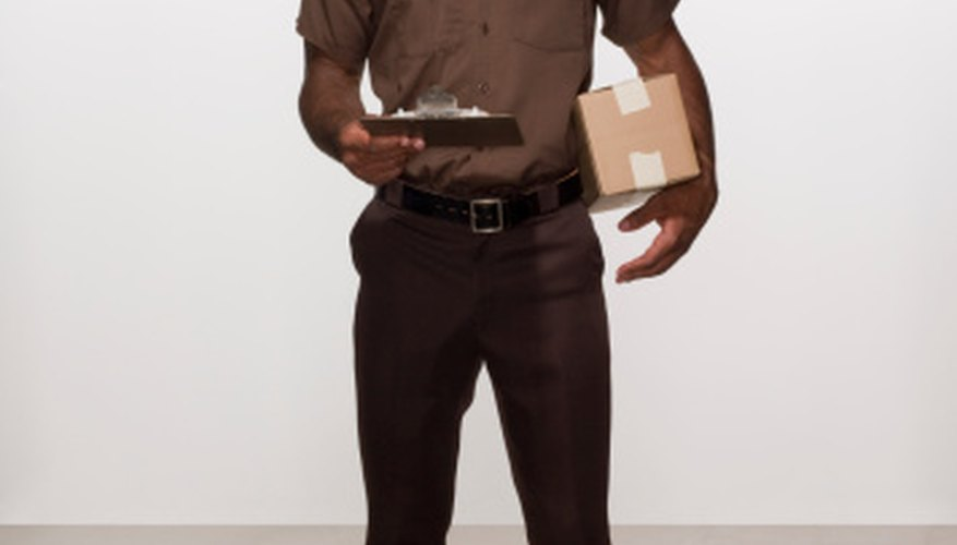 Couriers enable quick delivery service.
