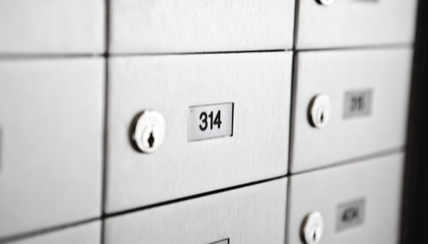 PO boxes are a safe and secure way to house your mail.