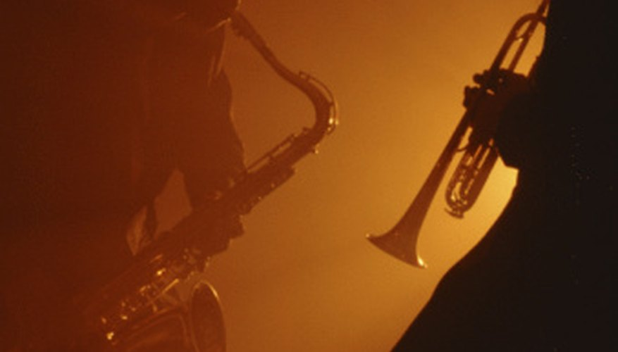 Jazz music is usually played by ensembles.