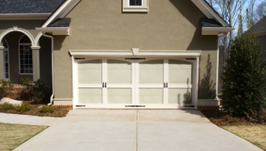 Keep your driveway clean with the aid of a sandblaster.
