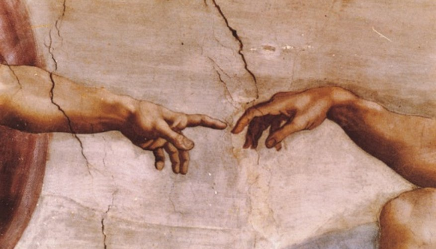 Michelangelo demonstrated a dynamic sense of naturalism in