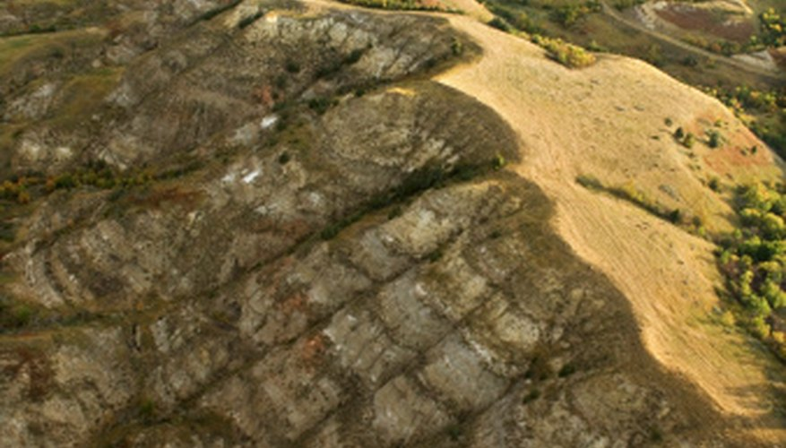 Erosion shapes many of the valleys of the world.