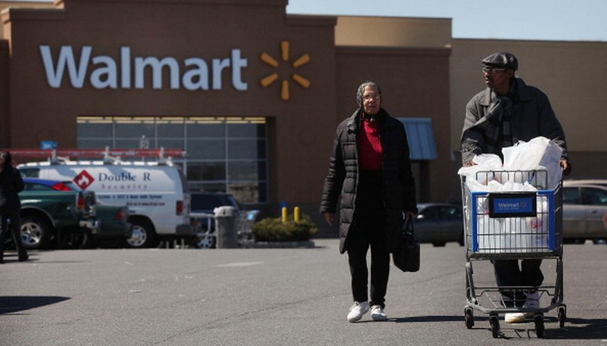 Walmart offers a variety of services in addition to retail goods.