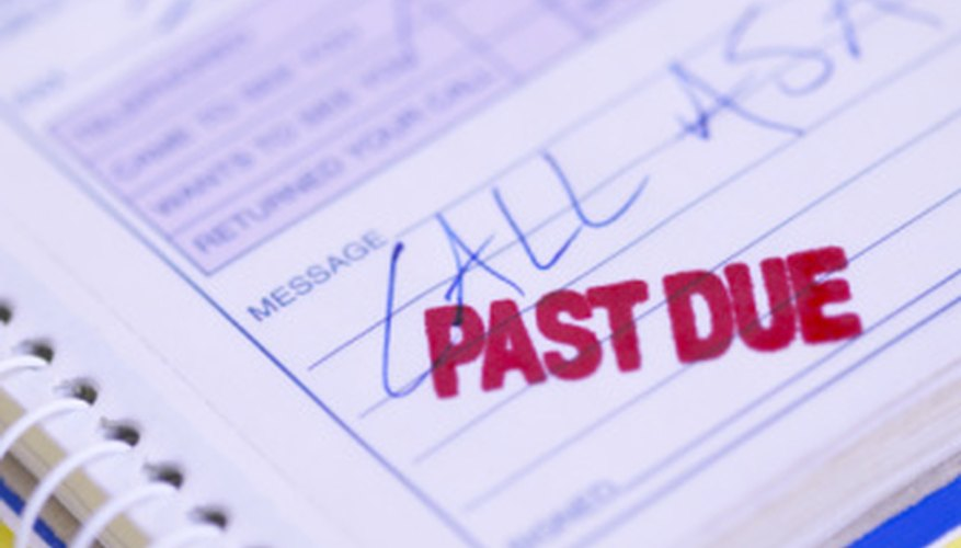 Work with collection agencies to pay a debt.