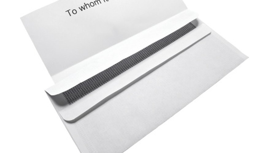Formal business letters are still used despite the prevalence of email.
