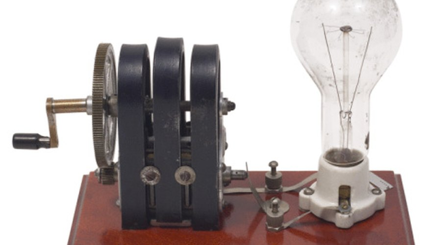 An armature is a functional part of an electrical generator.