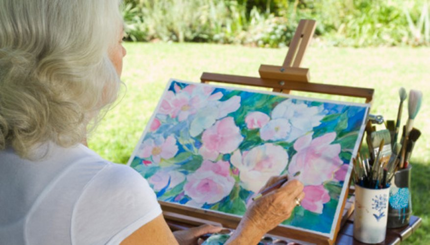 Use the natural background colors in your painting.