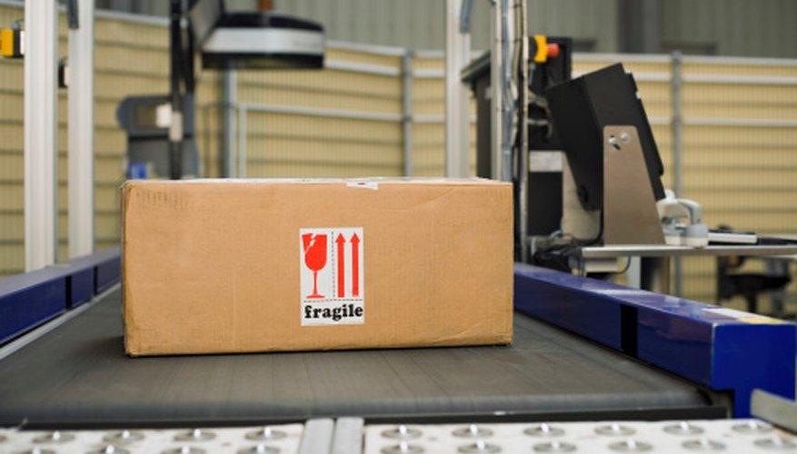 Rastrea un paquete durante su proceso de envío.