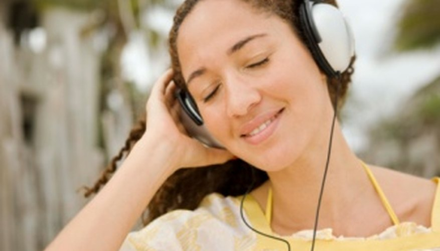 Listening to music can calm your mood.