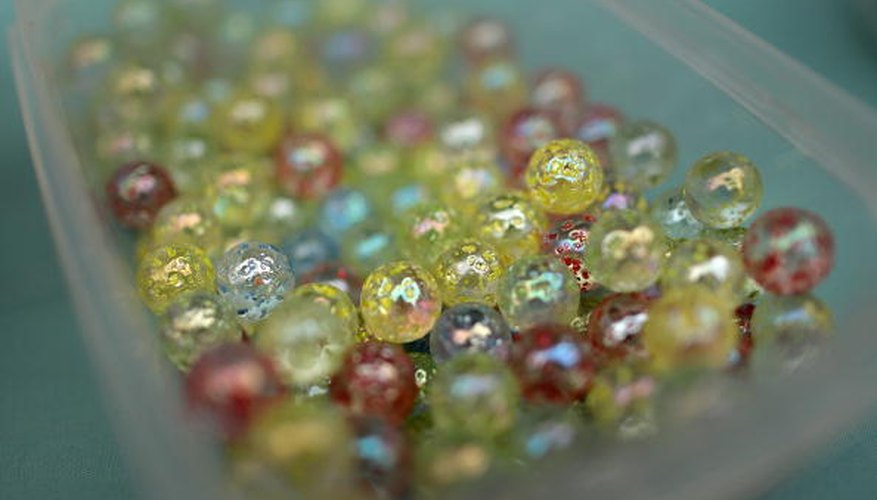 Vintage marbles come in every color and design