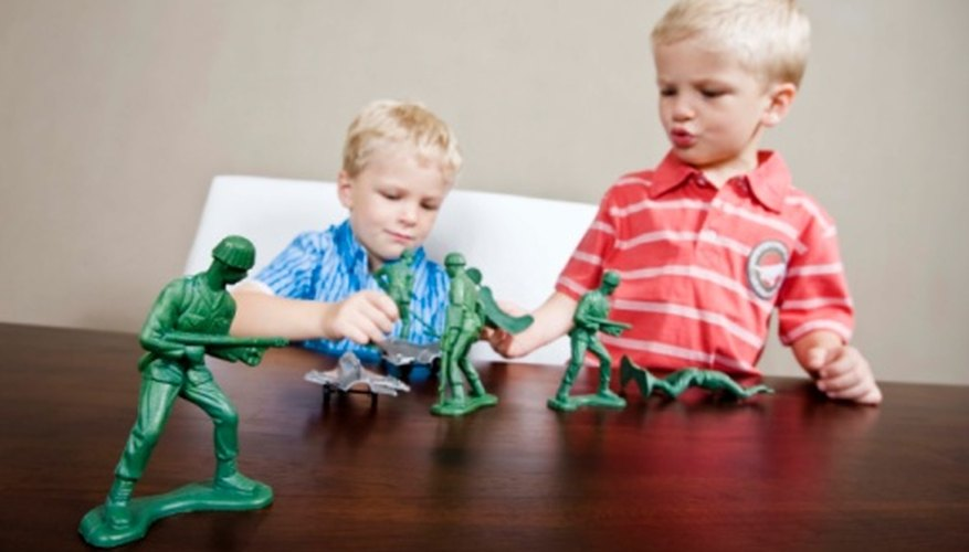 Determine the weight of plastic objects using basic math.