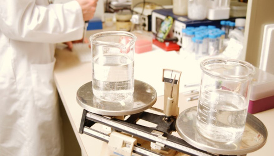 Using clean, dry lab equipment ensures that your measurements will be accurate.