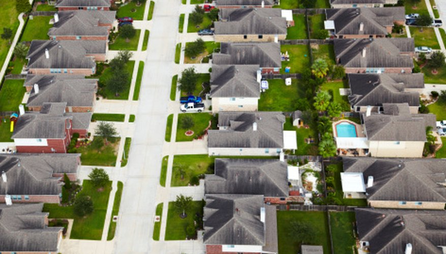 Appraisers consider the homogenuity of a neighborhood in determining market value.