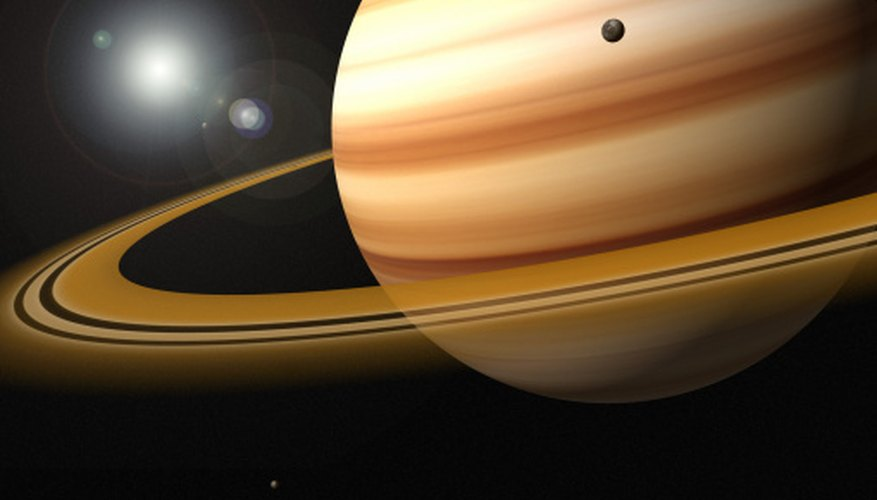 Saturn's rings are wide, but not very thick.