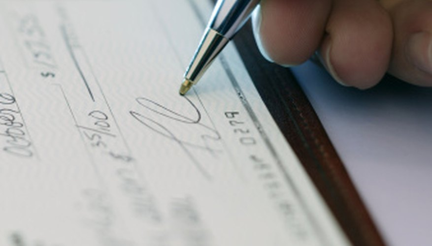 Always verify that your funds have been successfully deposited before writing checks.