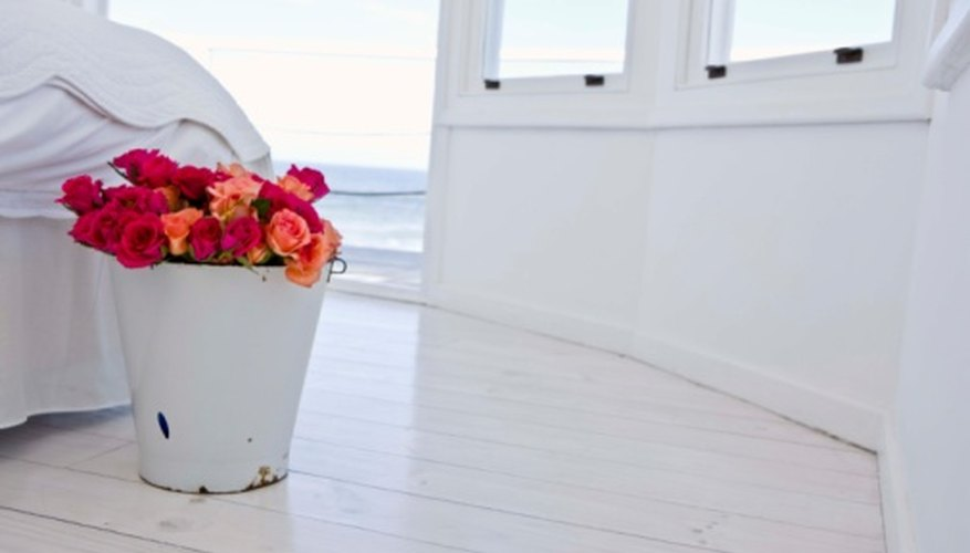 Keep roses in a cool location in the house to prolong their freshness.