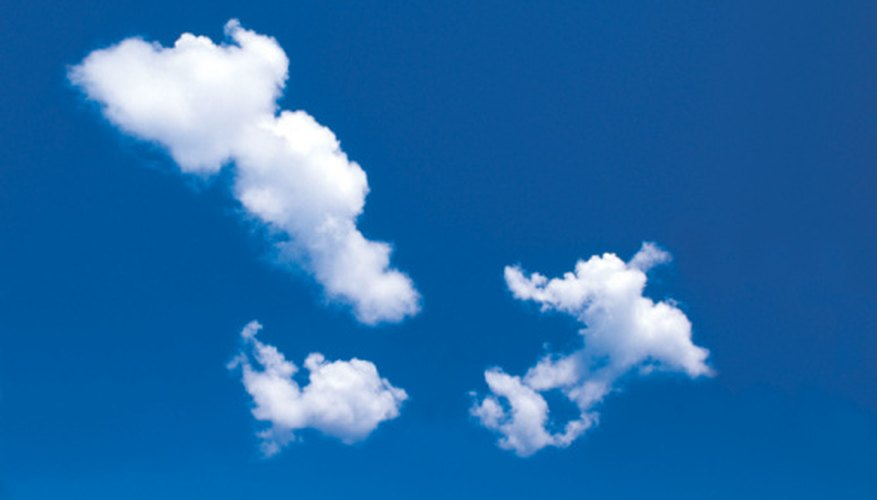 Cumulus clouds are unique because of the thermals that help make them.