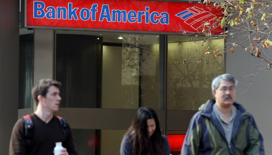 Bank of America was the Fortune 500's highest-ranked bank in 2010.