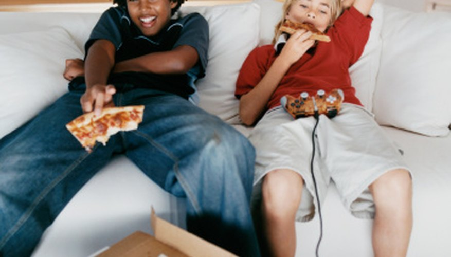 Host a family night wherein everybody plays fun, educational video games.