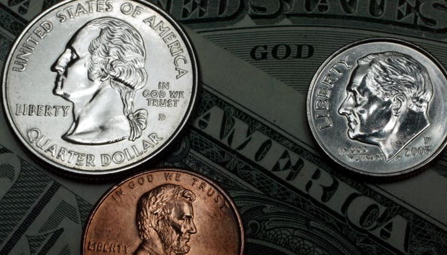 The United States Mint sets the composition of all coins made.