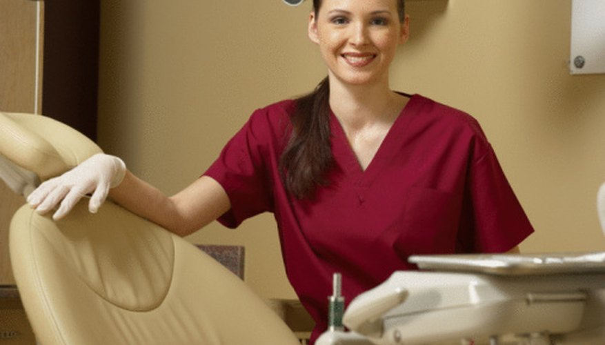 Dental assistants usually complete one-year training programs.