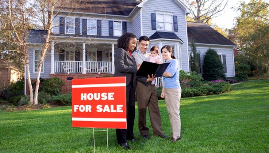 Los bienes inmuebles, como las casas, por lo general están exentos del impuesto sobre las ventas.