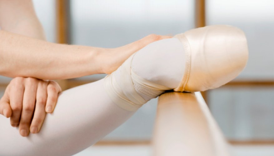 A ballet bar for home use gives a dancer the opportunity to work on specific areas of technique.