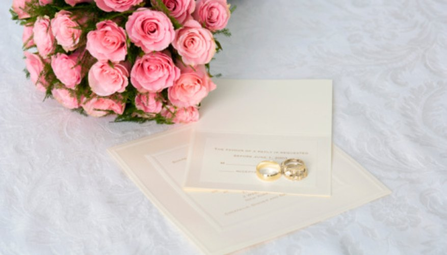 Couples should include donation requests with their wedding invitations.