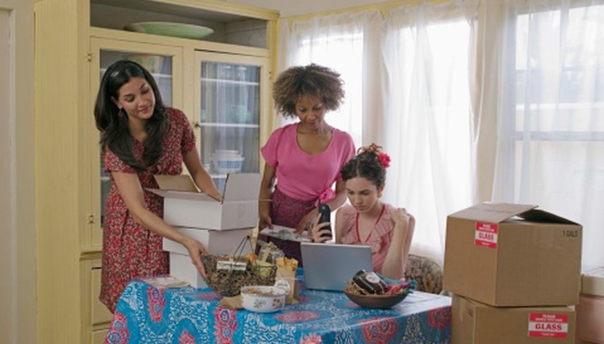 Home businesses can be cooperative ventures with friends or relatives.